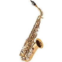 Saxofone Alto Eagle Sa500 Em Mib (eb) Com Case - Laqueado