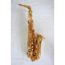 Sax Alto Completo Dourado Mcsa - 1 Suzuki