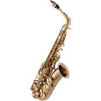 Saxofone Alto Eagle Sa500 Em Mib (eb) Com Case - Envelhecido