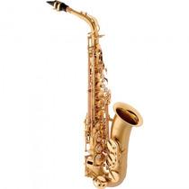 Saxofone Alto Eagle Sa-500 Bgd Mib Dourado - Refinado