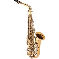 Frete Grátis - Eagle Sa500ln Saxofone Alto Mib Laquer/niquel