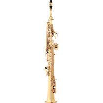 Sax Soprano Eagle Sp502 Laqueado Sib Pescoço Reto 1493