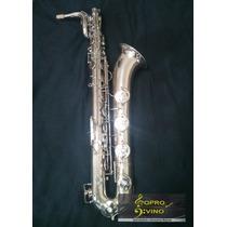Saxofone Baritono Galasso Super G Raridade Veja Video