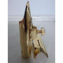 Boquilha Selmer (paris) Metal Sax Alto (mib) Banho Ouro Nº 6