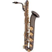 Frete Grátis - Eagle Sb506bg Saxofone Barítono Preto Onyx