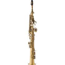 Frete Grátis Eagle Sp502vg Saxofone Soprano Acab Envelhecido