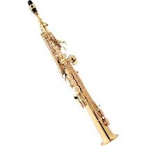 Saxofone Soprano Reto Eagle Sp502 Em Sib Laqueado Com Case