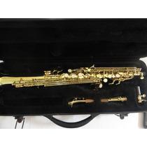 Sax Soprano Suzuki Sib, Revisado Em Bom Estado