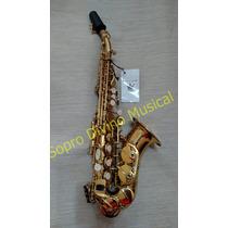 Sax Soprano Curvo Laqueado Schieffer