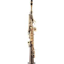 Ritmus : Eagle Sp502bg : Saxofone Soprano Sib : Black Onyx