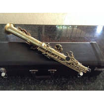 Saxofone Soprano Eagle Sp502 Envelhecido