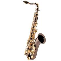 Saxofone Tenor Eagle St503 Em Sib (bb) Com Case - Preto Onix