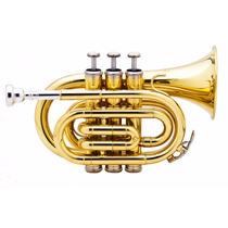 Trompete Pocket Hoyden Htp25l Sib (bb) Laqueado