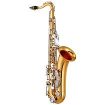Saxofone Yamaha Yts26 Tenor Bb Laqueado Dourado Apoio De Pol