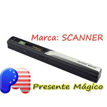 Scanner Portatil De Mão Wireless 600dpi - Pronta Entrega
