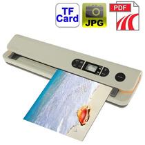 Scanner Portátil Automático 900 Dpi/suporta Sd 32gb/jpeg/pdf