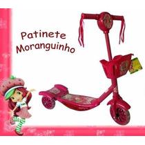 Patinete Musical C/ Luzes 3 Rodas Disney A Pronta Entrega