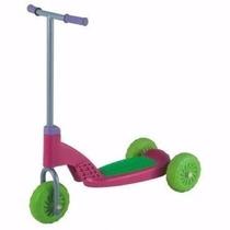 Patinete 3 Rodas Menina Vapt Vupt Rosa - Magic Toys