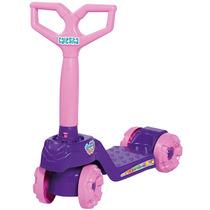 Patinete Infantil 4 Roda Mini Scooty Menina Calesita Inmetro