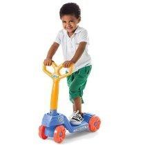 Patinete Mini Scooty Calesita Brinquedo Azul Meninos