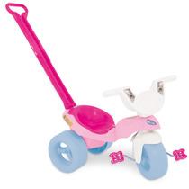 Triciclo Infantil Pepita Com Empurrador 7355 - Xalingo