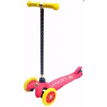 Patinete Skatenet Twist Infantil Snoopy Girls 3 Rodas Menina