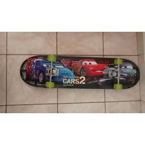 Skate Semi Profissional Carros Desenho Sortido