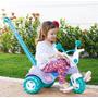 Triciclo Velotrol Infantil Com Haste Som Charmosa - Cotiplás