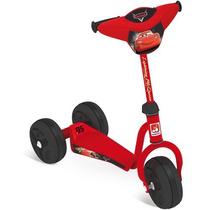 Patinete Cars 3 Rodas Veiculo Infantil Brinquedo Bandeirante