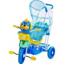 Carrinho Bebê Triciclo Capota 3 Em 1 Musical Luz Bel 910600