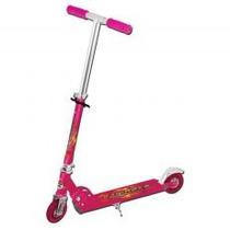 Patinete 2 Rodas-moranguinho-pink Com Rodas Translúcidas Led