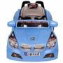 Carro Eletrico Infantil Buzina Sons Criança Carrinho Cor Bmw