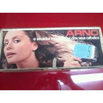 Secador De Cabelo Antigo Arno Ano 1983 220v Na Caixa