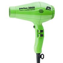 Parlux Secador De Cabelo 3800 Ceramic Ion 2100w - Verde 220v