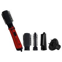 Escova Rotativa Philco Spin Íon Brush - Preta/vermelha