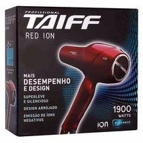 Secador Taiff Red Ion Profissional 127v