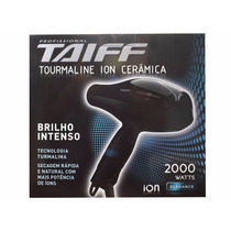 Secador Cabelo Taiff Tourmaline 2000w; Consulte Voltagem