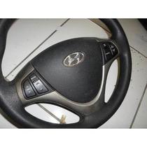 Volante C/airbag E Controles I30 Completo Original