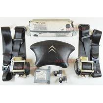 Kit Air Bag Bolsas Modulo Cintos Sensores P Picasso 03 08