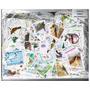 1000 Selos Pássaros E Aves Diversas Universais - P043