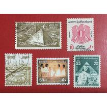 Selos Do Egito - África - 5 Selos (ver Imagem) -frete Grátis
