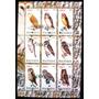 Fil A640 Aves De Rapina Coruja Fauna De Rwanda Bloco Complet