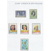 Selos Das Ilhas Virgens Britanicas Lote 151 .