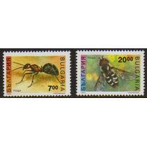 Col 00226 Bulgaria 3461/62 Insetos Diversos N