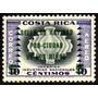 Col 05886 Costa Rica Aéreo 272 Natal De 1958 Nnn