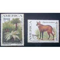 A5846 Uruguai Fauna Serie America Yvert Nº 1528/9 Nn