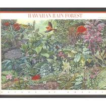 =cp Est. Unidos= Serie 10 Selos/ Folha= Fauna & Flores Hawai
