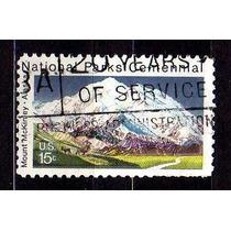 Usa 1972 * Parques Nacionais * Monte Mc Kinley