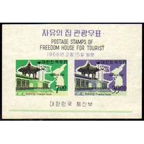 Col 08726 Coreia Do Sul Bloco 103 Palácio Da Liberdade N