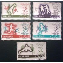 A4852 Sharjah Esportes Yvert Nº 122/6 Completa Circ